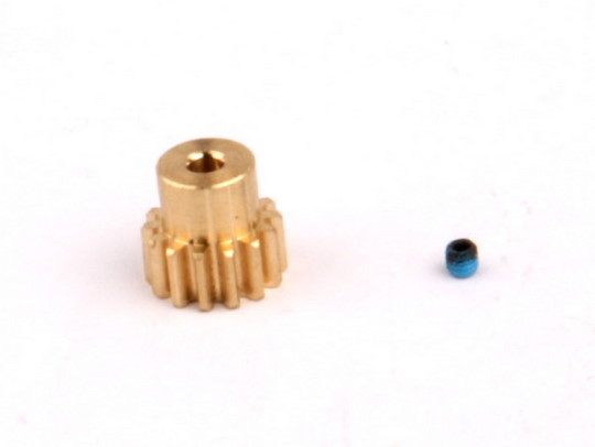 14T, 32P Brass Pinion Gear