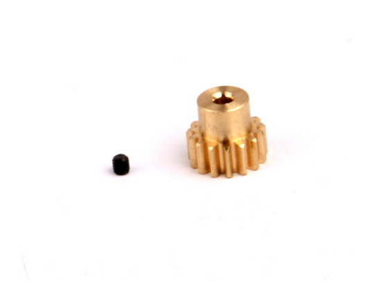 15T, 32P Brass Pinion Gear
