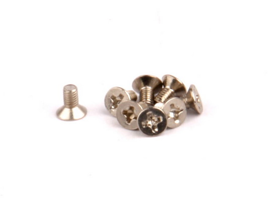 Flat Hd Philips Screws M3x6mm