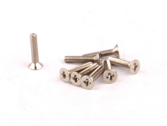 Flat Head Screws M3x15mm