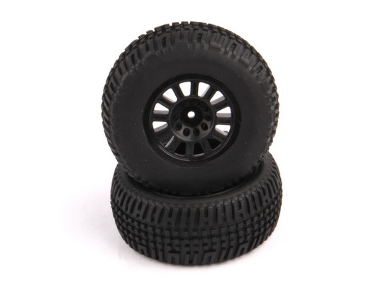 Tyres mounted black wheel pr (Dominus SC