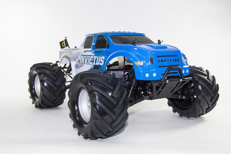 1/10th Invictus 10MT 4x4Monster Trk Blue