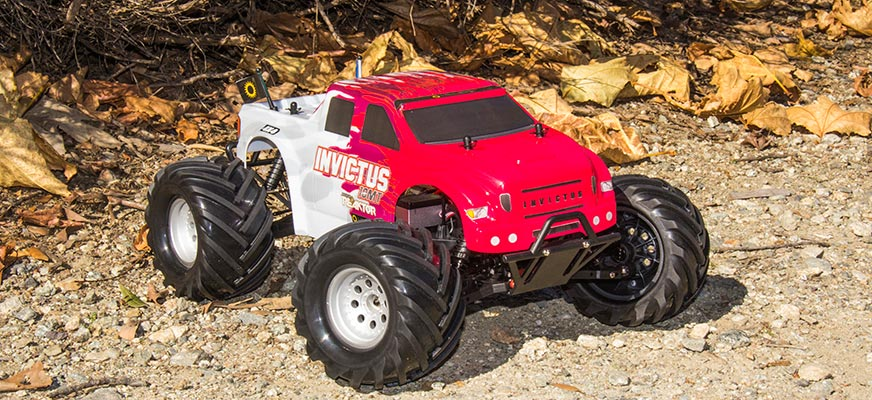 1/10th Invictus 10MT 4x4 Monster Trk Red