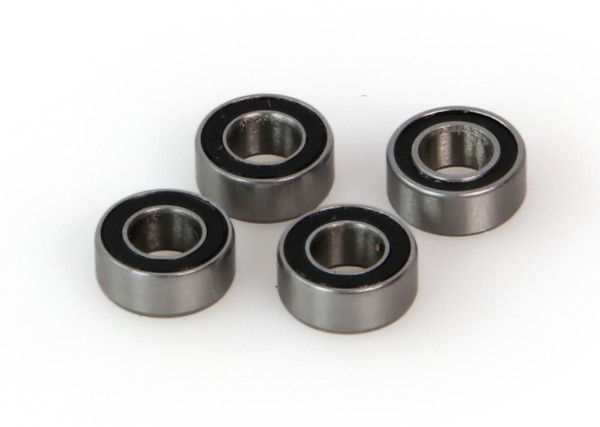 Bearings, rubber sealed 5x10x4
