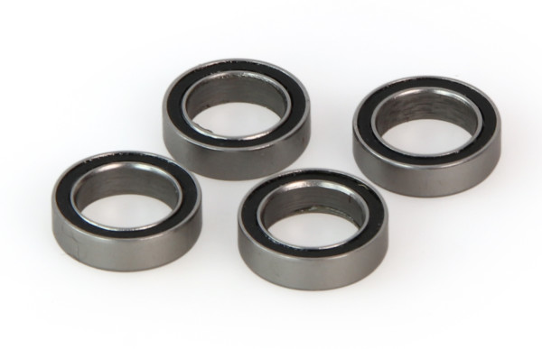 Bearings, rubber sealed 10x15x4