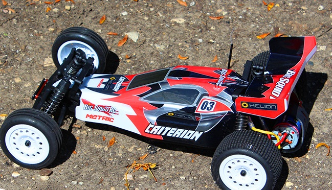 Criterion 2WD Electric Buggy Red