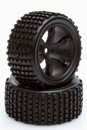 Rear Tyres and Wheels (Impakt)