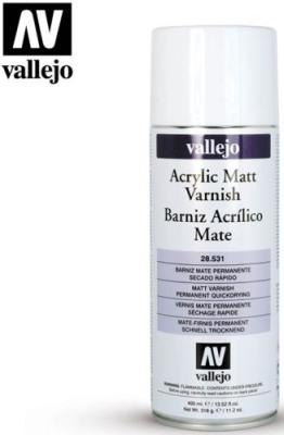 Matt Varnish Spray 400ml