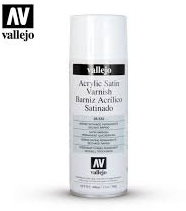 Satin Varnish Spray 400ml