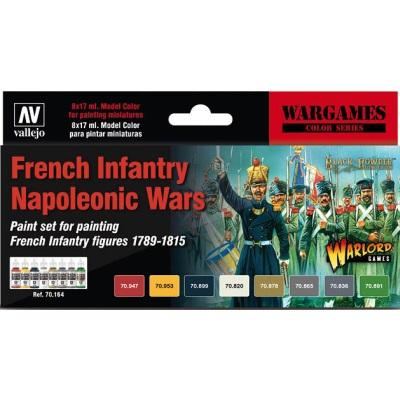 French Infantry Napoleonic Wars Colour set (8)