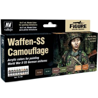 Waffen SS Camouflage Model Color set