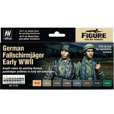 German Fallschrimjager Early WWII Set (8)