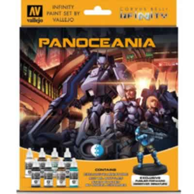 Model Colour Set - Infinity Panoceania Exclusive Miniature