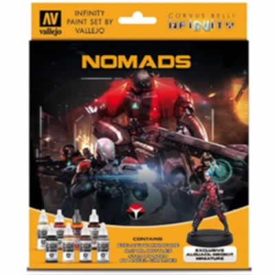Model Colour Set - Infinity Nomads Exclusive Miniature