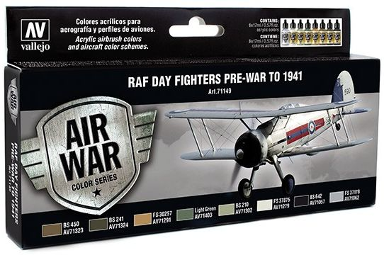 RAF Day Fighters Pre-War Model Air Set