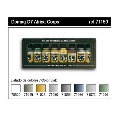 Demag D7 Africa Corps Model Air Set (8)
