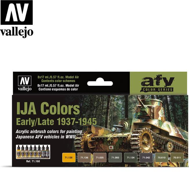 IJA Colors Early/Late 1937-1945 Paint Set