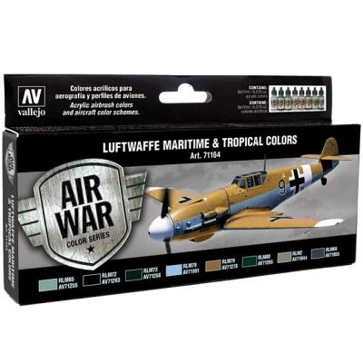 Luftwaffe Maritime and Tropical Colors Model Air Set