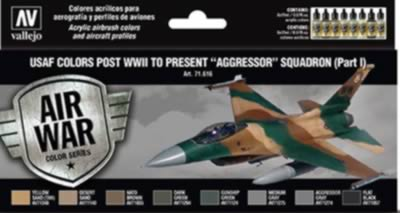 Model Air Set - USAF Colours Post WWII to Present Agressor Squadron Pt1