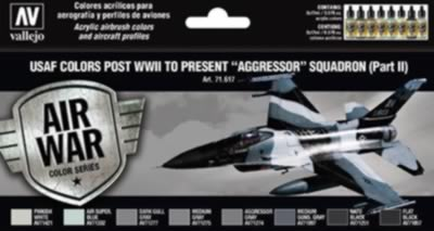 Model Air Set - USAF Colours Post WWII to Present Agressor Squadron Pt2