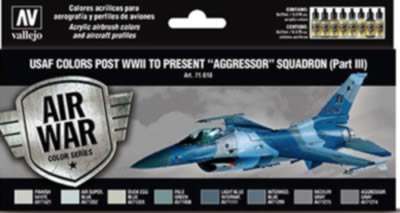 Model Air Set - USAF Colours Post WWII to Present Agressor Squadron Pt3