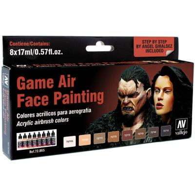 Game Air Face Painting (by Angel Giraldez)