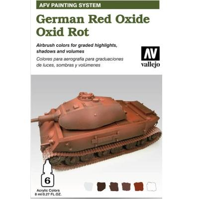 German Red Oxide Armour 6x8ml