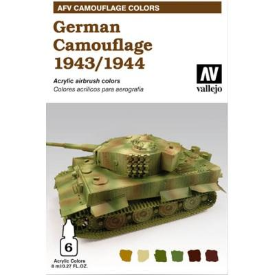 German Camouflage 1943-1944
