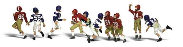 N Youth Football Players
