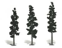 "2 1/4""-4"" Forest Green Pine Trees"