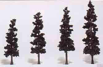 "4 - 6"" Conifer Green (4) Pines RM"